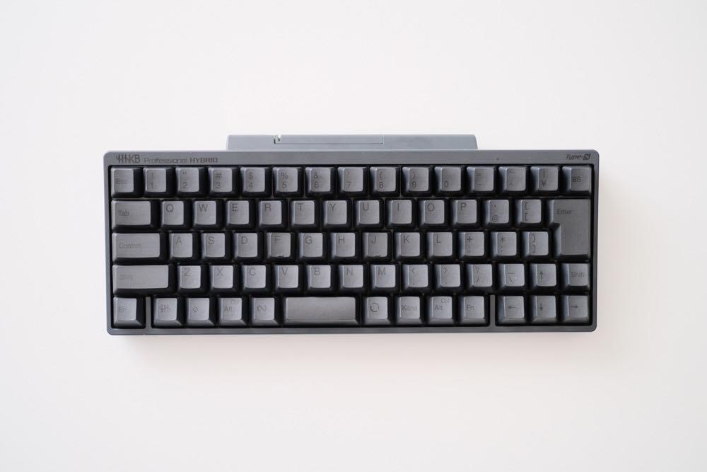 文字入力が捗る。ミニマルだからこそ使いやすいキーボード『HHKB HYBRID Type-S』